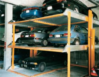 Hydraulic Lift Parking
